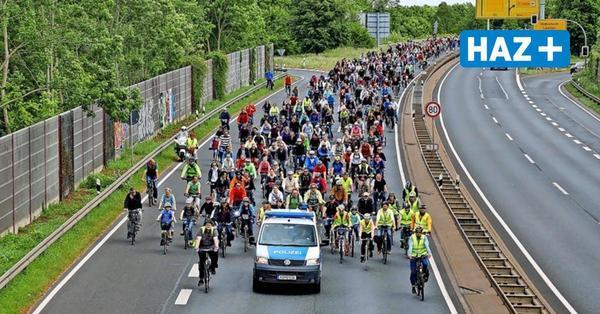 Radler-Demo auf Südschnellweg gegen den Ausbau geplant