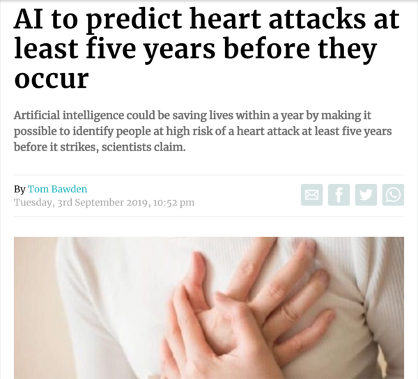 They even got a lady having a gender neutral heart attack to illustrate it