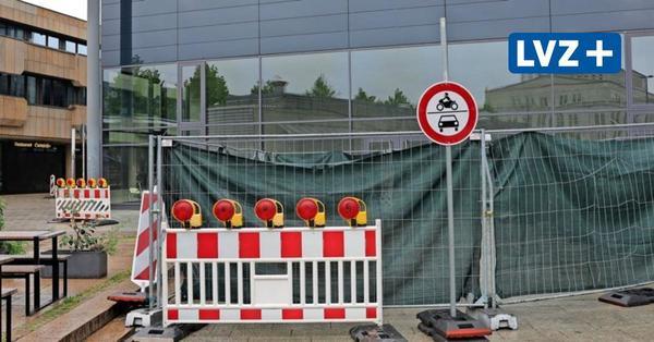 Leipzigs Kurt-Masur-Platz für Autos dicht