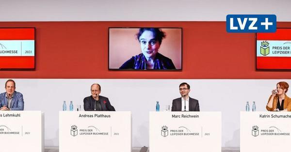 Iris Hanika vom Preis der Leipziger Buchmesse überrascht