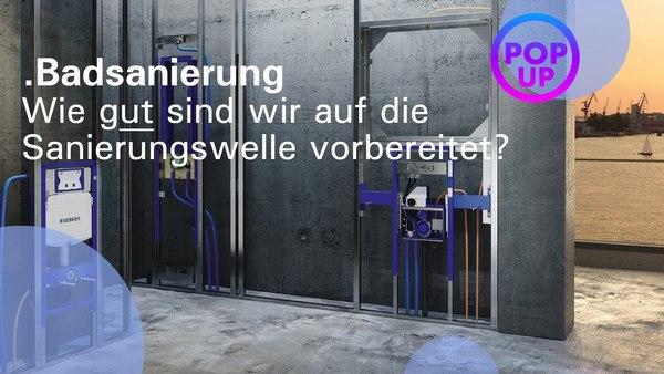 Pop up my Bathroom Magazin   Sanierung - ISH digital 2021 DE