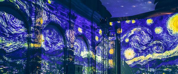 Van Gogh - The immersive Experience - Ausstellung bis 01.08.2021 - Multimedia-Spektakel