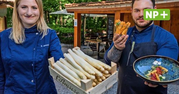 Spargel mal anders: Rebecca Nonnast ist neue NP-Köchin in Hannover