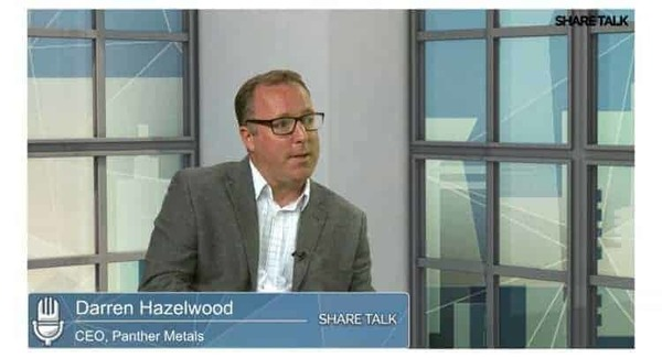 Darren Hazelwood, CEO of Panther Metals PLC (PALM.L) Interview