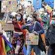 Erster Dyke March in Hannover: Lesbische demonstrieren für mehr Rechte
