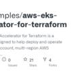 aws-samples/aws-eks-accelerator-for-terraform