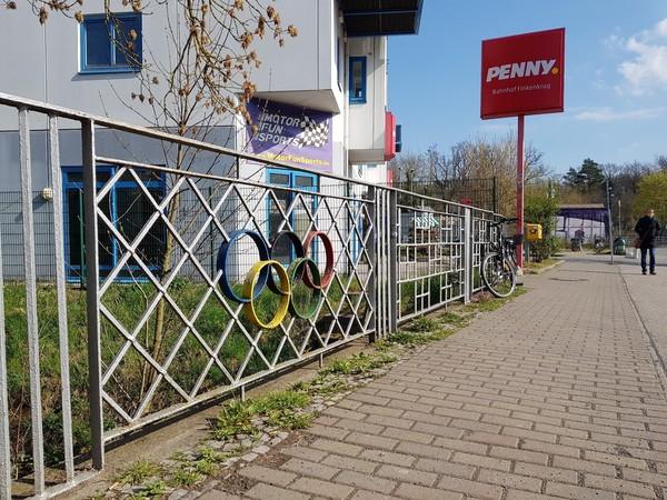 Olympiabegeisterung in Finkenkrug. (Foto: Marlies Schnaibel)