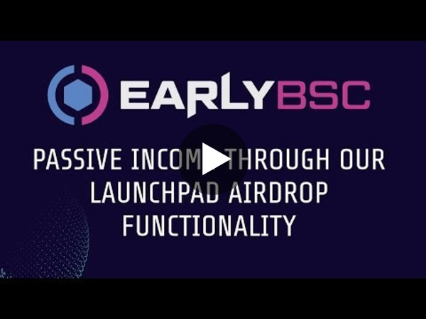 Generating Passive Income Through $EBSC I Launchpad Airdrops