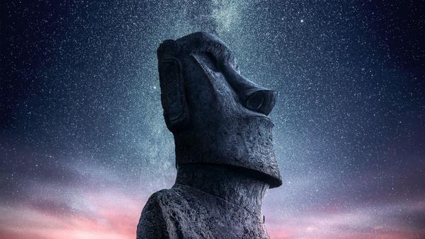 Moaï de l'île de Pâques (Droits réservés)