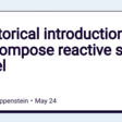 A historical introduction to the Compose reactive state model
