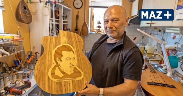 Stölln: Musiker Igor Yakymenko baut Instrumente und besitzt selbst mehr als 200