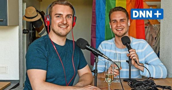 """""""So liebt Dresden"""": Dresdner Paar über ihren Schwulenpodcast """"Hinternhof"""""""