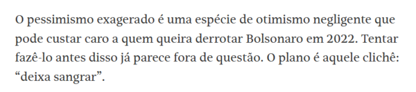 Vinícius Torres Freire, coluna da FSP 30/05/2021