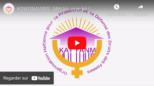 VIDEO : KOWONAVIRIS - Mèt kò, veye kò !