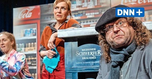Dresdner Herkuleskeule spielt wieder:Licht im Kühlschrank und Tunnel in Sicht