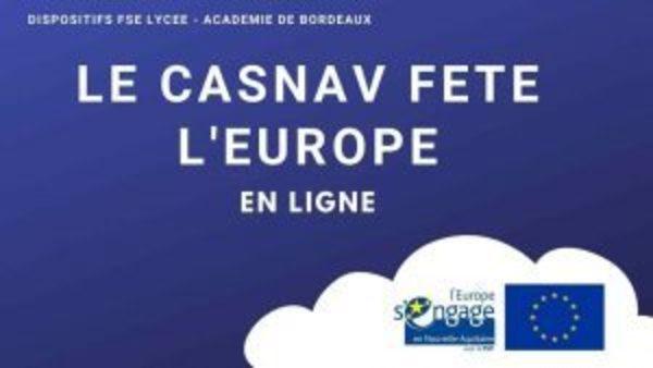 Le CASNAV a participé à la Semaine de l'Europe.