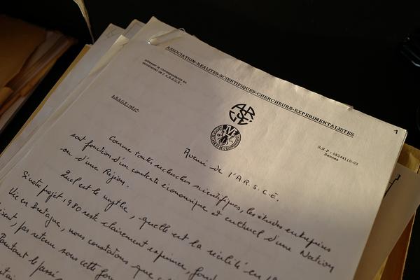 Note stratégique de l'ARSCE, rédigée par Gérard Colin