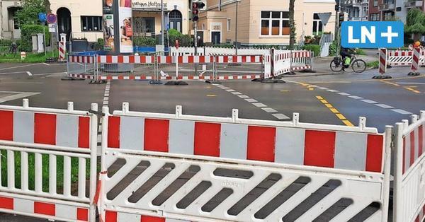Lübeck: Stadt baut Kreuzung Hüxtertorallee/Moltkestraße für Radfahrer und Fußgänger um