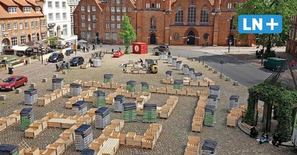 Lübeck: Koberg wird zum blühenden Labyrinth - zumindest vorübergehend