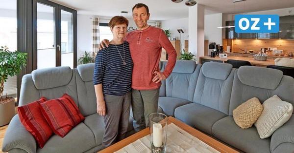 """Ehepaar tauscht Haus gegen Wohnung im Rostocker Hansekarree: """"Wir sind angekommen"""""""