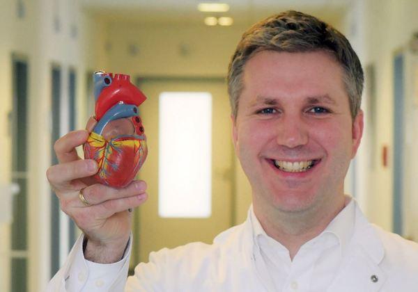 Der Kardiologe Tobias Plenge. Foto: Bernd Gartenschläger