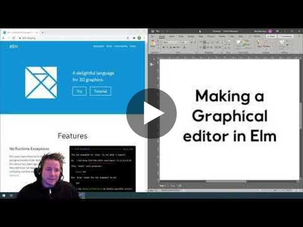 Intro and Main Layout - Part 1 of Making a graphical editor in Elm (elm-ui)