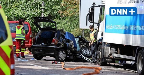 Tödlicher Unfall am Wilden Mann in Dresden: Lkw-Fahrer angeklagt