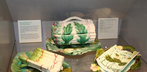 Im Spargelmuseum spielt unter anderem Tischkultur eine wesentliche Rolle. (Foto: Handout Museum Nienburg)