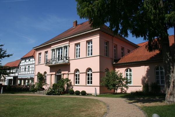 Das Quaet-Faslem-Haus ist ein architektonisches Kleinod. (Foto: Handout Mittelweser-Touristik)