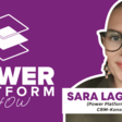 Power Platform Consultant Fighting Cancer with Sara Lagerquist   Dynamics 365 Show
