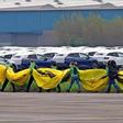 Dutzende Schlüssel von Export-Autos gezogen: Greenpeace-Protest gegen VW