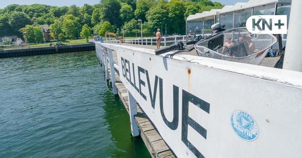 Neue Badestelle in Kiel - Bellevuebrücke: Badespaß verzögert sich