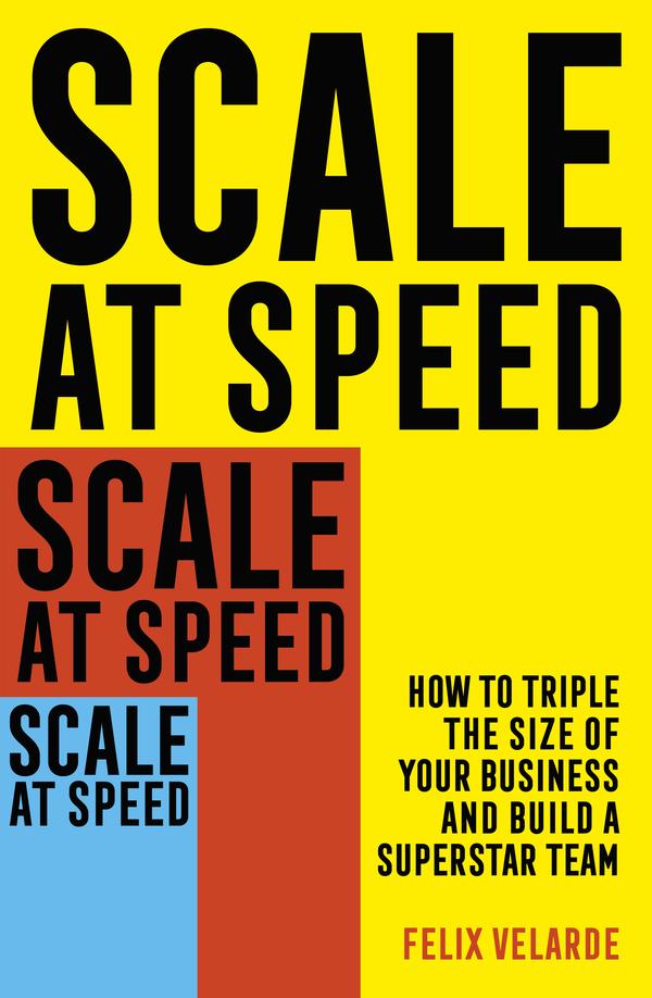 Grow Your Business. READ THE BOOK. scaleatspeed.com #2Y3X #2Y3XMENA