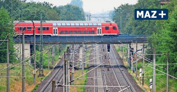 Bahnstrecke Berlin-Rostock eine Woche lang gesperrt