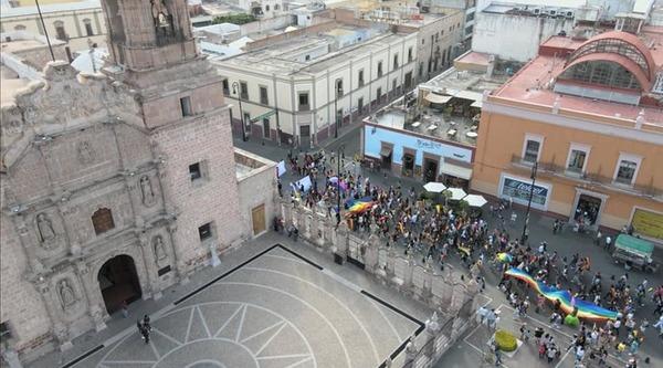 Foto: Marcha Del Orgullo Lgbttti Aguascalientes 2021