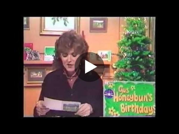 Gus Honeybun's Birthdays with Judi Spiers - Westward Television 1980