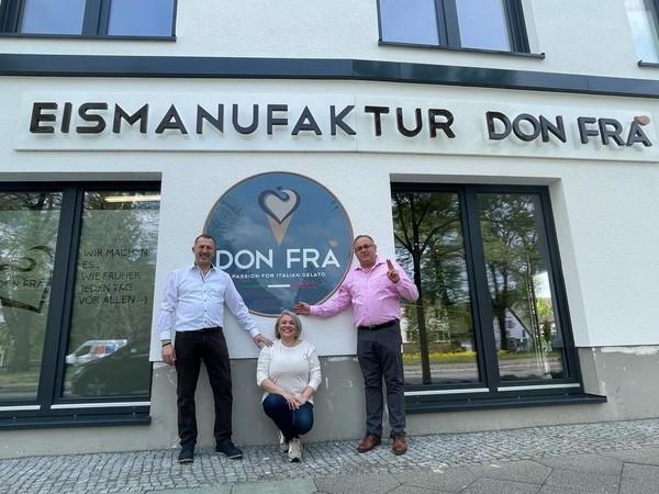 Neue Adresse für Eisfreunde in Falkensee. (Foto: Leonie Mikulla)