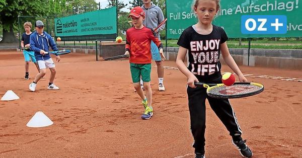 Gruppen erlaubt: So war das erste Training der Kinder im Tennisclub Kühlungsborn