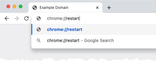 Quickly Restart Google Chrome 😇