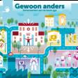 Willem-Alexander en Máxima spreken met Limburgse jongeren over belang van mentale gezondheid