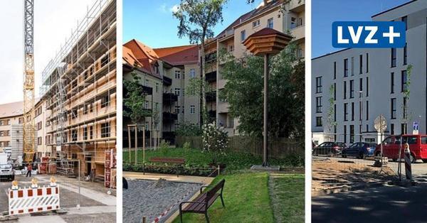 Baustellen in Leipzig-Gohlis: Wo Villen und Sozialwohnungen entstehen