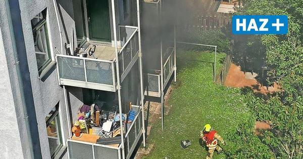 Balkonbrand an der Fössestraße Hannover: Akku hat das Feuer verursacht