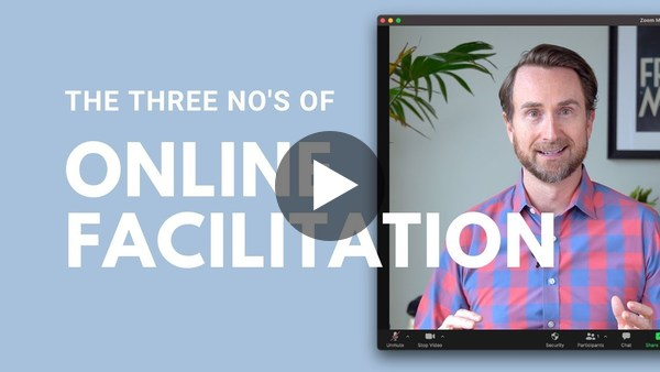 Presenting in Zoom: The 3 No's of Online Facilitation