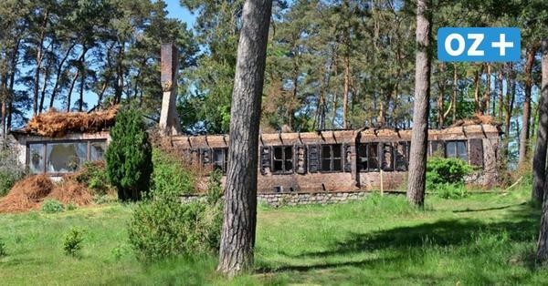 Reetdachhaus in traumhafter Ostsee-Lage in Riemserort abgebrannt: War es Brandstiftung?