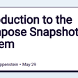 Introduction to the Compose Snapshot System