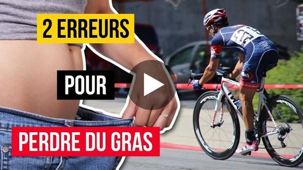 🚴 2 ERREURS répandues chez les cyclistes pour PERDRE DU GRAS