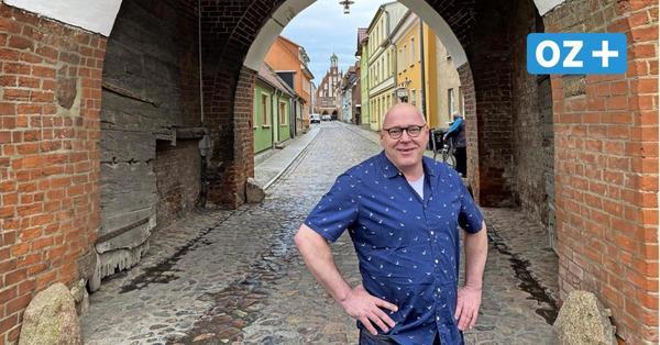 Bürgermeister-Kandidat Thomas Bitter will Grimmen in eine neue Zukunft führen