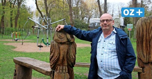 Bürgermeister-Kandidat Jörg Fiedler ist die Jugend wichtig