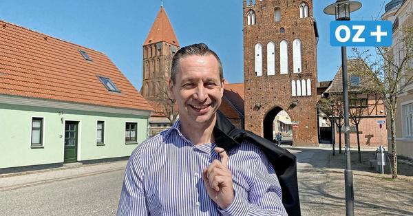 Bürgermeisterwahl in Grimmen: Darum kandidiert Daniel Gensch