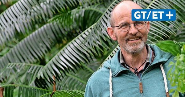 Hüter der Pflanzen: Michael Schwerdtfeger ist Kustos im Alten Botanischen Garten Göttingen